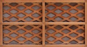 Assicella di legno Fotografie Stock Libere da Diritti