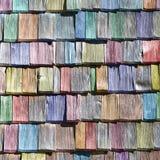 Assicelle colorate Fotografia Stock