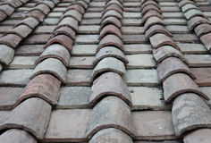 Assicelle del tetto Immagini Stock
