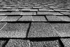 Assicelle del tetto Fotografie Stock