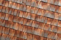 Assicelle di legno Fotografia Stock