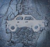 Assicurazione auto Fotografia Stock Libera da Diritti