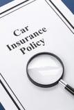 Assicurazione auto Immagine Stock Libera da Diritti