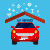 Assicurazione auto e protezione Vita di sicurezza Fotografie Stock Libere da Diritti