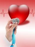 Assicurazione contro le malattie. Fotografia Stock Libera da Diritti