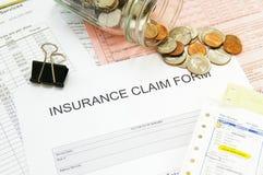 Assicurazione contro le malattie Fotografie Stock
