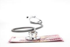 Assicurazione contro le malattie dell'Indonesia Fotografia Stock Libera da Diritti