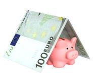Assicurazione dei contributi della banca immagini stock libere da diritti