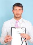 Assicurazione del medico di salute Fotografia Stock Libera da Diritti