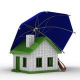 Assicurazione dell'abitazione Immagini Stock Libere da Diritti