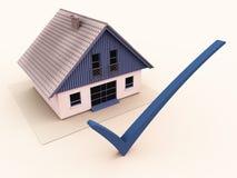 Assicurazione di controllo o selezione domestica del buy illustrazione di stock