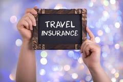 Assicurazione di viaggio fotografia stock libera da diritti