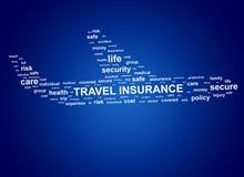 Assicurazione di viaggio Modifiche della nube fotografia stock libera da diritti