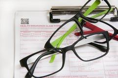 Assicurazione di visione glasses2 Fotografia Stock