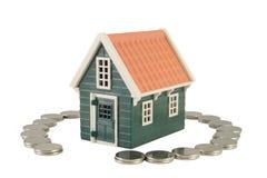 Assicurazione domestica Immagini Stock Libere da Diritti