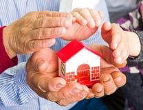 Assicurazione domestica Immagine Stock