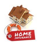 Assicurazione domestica Fotografie Stock Libere da Diritti