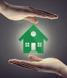 Assicurazione e sicurezza domestiche Immagini Stock Libere da Diritti
