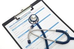 Assicurazione malattia Fotografia Stock