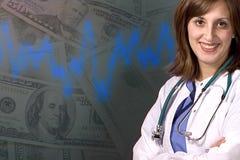 Assicurazione-malattia costosa Fotografie Stock Libere da Diritti