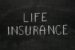Assicurazione sulla vita Immagini Stock