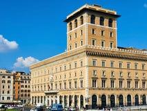 Assicurazioni generali building Piazza Venezia Rome Stock Image