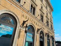 Assicurazioni Generali insurance company building piazza Venezia Royalty Free Stock Photos