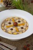 Assidat zgougou - traditional tunisian dessert prepared for cele Stock Photography