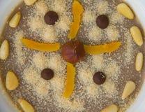 Assidat zgougou - traditional tunisian dessert prepared for cele Stock Images