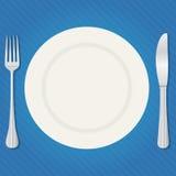 assiette illustration stock