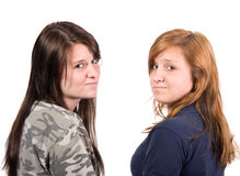 Assiette d'adolescent image libre de droits