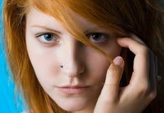 Assiette de l'adolescence. Photographie stock libre de droits