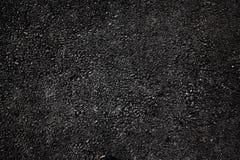 Assiette de la route foncée d'asphalte photo stock
