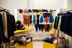 Assim exposição tão crítica da fôrma em Milão o 20 de setembro de 2013 Imagens de Stock