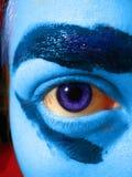 Assim que se azul de Iâm Imagem de Stock