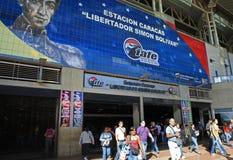 Assinantes em Caracas, Venezuela imagem de stock