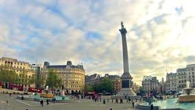 Assinantes no quadrado de Trafalgar, Londres vídeos de arquivo