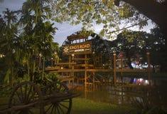 Assine para a estrada do ` s do rei em Siem Reap, Camboja Imagem de Stock Royalty Free