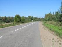 Assine, sinalize, ajardine, posicione, fundo, estrada Foto de Stock
