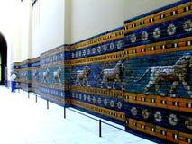 Assirian walls. Pergamon Museum in Berlin Stock Photography