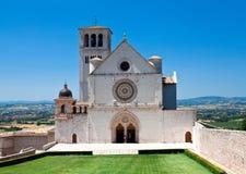 Assisi大教堂 图库摄影