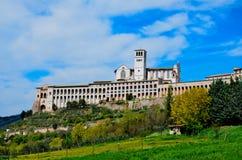 Assisi, βασιλική μεγαλύτερο 1 Στοκ Εικόνες