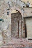 Assisi, μικρή πόλη της Ουμβρίας Στοκ φωτογραφία με δικαίωμα ελεύθερης χρήσης