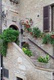 Assisi, μικρή πόλη της Ουμβρίας Στοκ Εικόνες