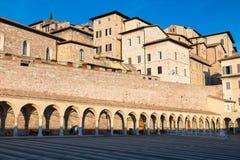 assisi Италия Взгляд старого города Стоковая Фотография RF