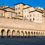 assisi Италия Взгляд старого города Стоковые Фотографии RF
