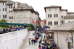 assisi Италия стоковая фотография