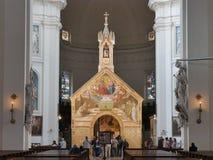 Assisi - церковь St Mary ангелов стоковые фото