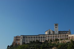 assisi basilica Di Francesco SAN Στοκ Φωτογραφίες