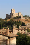 Assisi castle, Umbria, Italy Stock Photography